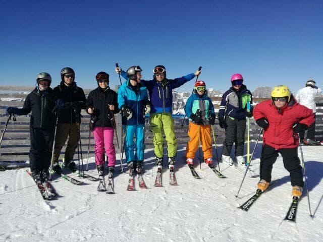 Uscita sugli sci, Flumserberg