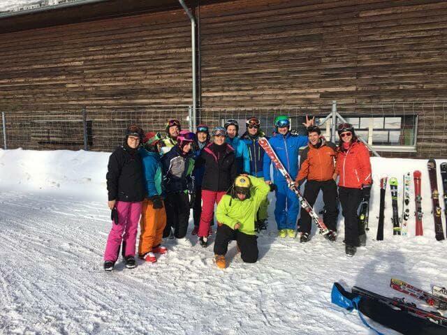 Prima uscita sugli sci 2019 a Splügen