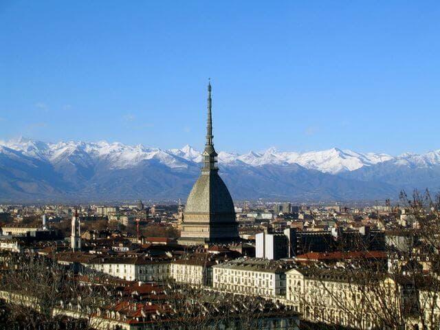 Gita sociale a Torino (Italia)