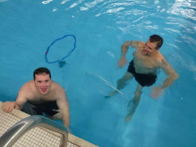 Lezione di nuoto 2013